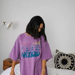 Day Pink Floyd Washed T-Shirt Dress | Urban Outfitters (US and RoW)