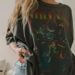 Nirvana Unplugged T-Shirt Dress | Urban Outfitters (US and RoW)