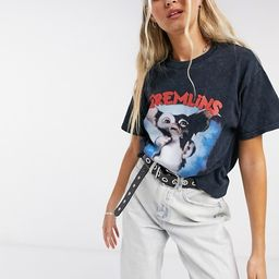 Vintage Supply overdye T-shirt with gremlin graphic | ASOS (Global)