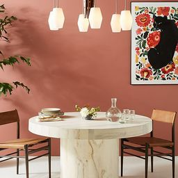 Swirled Drum Dining Table   Anthropologie (US)
