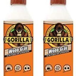 Gorilla Wood Glue, 18 ounce Bottle, (Pack of 2) | Amazon (US)