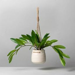 """9"""" Faux Hoya Leaf Hanging Plant - Hearth & Hand™ with Magnolia 