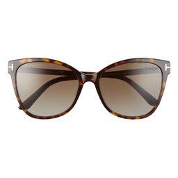 Ani 58mm Gradient Polarized Cat Eye Sunglasses | Nordstrom
