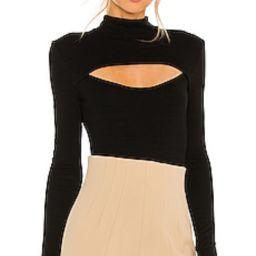 Michael Costello x REVOLVE Evelyn Bodysuit in Black from Revolve.com   Revolve Clothing (Global)