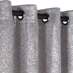 GoodGram 2 Pack Sparkle Chic Thermal Blackout Curtain Panels - Assorted Colors & Sizes (Gray, 95 ...   Amazon (US)