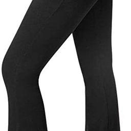 SATINA High Waisted Flare Palazzo Wide Leg Pants | Printed & Solid | Reg & Plus | Amazon (US)