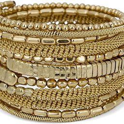SPUNKYsoul Handmade Bohemian Coil Spring Bracelet for Women Collection | Amazon (US)