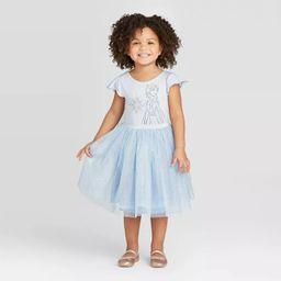 Toddler Girls' Disney Frozen Elsa Tutu Dress with Cape - Blue | Target