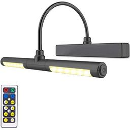 LUXSWAY Wireless Picture Light Battery Operated, Remote Control Painting Light with Rotatable Lig... | Amazon (US)