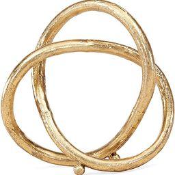 Danya B. Gold Eternal Loop Metal Sculpture, Wedding, for Home or Office Decor, Unique Accent Piec... | Amazon (US)