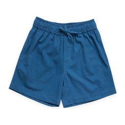 Pull on Straight Shorts, Navy   Maisonette