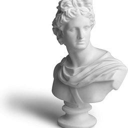 "Garwor 6"" Apollo Greek and Roman Mythology God of Sunlight Oracles Healing Poetry Resin Head Bust... | Amazon (US)"