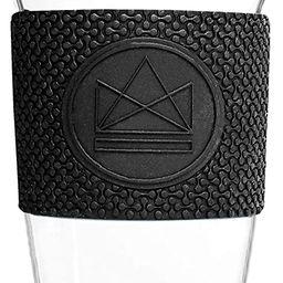 Neon Kactus Reusable Glass Coffee Cups/Travel Mugs 16oz (Black)   Amazon (CA)