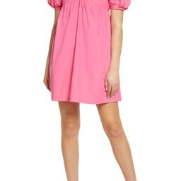 English Factory Puff Sleeve Babydoll Dress | Nordstrom | Nordstrom
