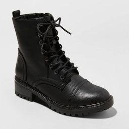 Women's Kamryn Lace Up Combat Boot - Universal Thread™ | Target