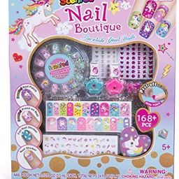 Hot Focus Scented Nail Boutique – 168 Piece Unicorn Nail Art Kit Includes Press on Nails, Nail ...   Amazon (US)