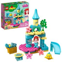 LEGO DUPLO Disney Ariel's Undersea Castle Building Toy; Princess Castle Under the Sea 10922   Target