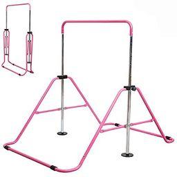 Slsy Gymnastics Bars Kids Kip Training Bars for Home, Folding Horizontal Bars with Adjustable Hei...   Amazon (US)