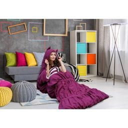 "32""x75"" Frankie Sleeping Bag Purple - Chic Home Design   Target"