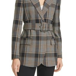 Plaid Double Breasted Blazer | Nordstrom