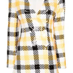 Caroline check blazer dress | Farfetch (US)