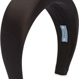 logo-patch padded headband | Farfetch (US)