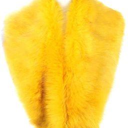 Dikoaina Extra Large Women's Faux Fur Collar for Winter Coat | Amazon (US)