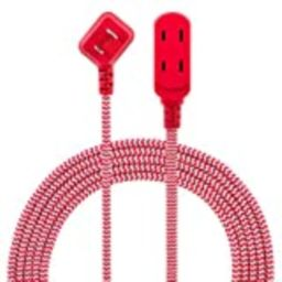 Philips 3 Outlet Extension Cord, 8 Ft Long Cord, Designer Braided Extension Cord, Polarized Outlets,   Amazon (US)