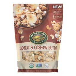 Nature's Path Granola, Crunchy Coconut And Cashew Butter, 11 Oz, Pack of 8   Walmart (US)