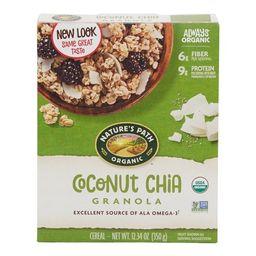 Nature's Path, Granola, Organic, Coconut Chia, 12 oz Box   Walmart (US)