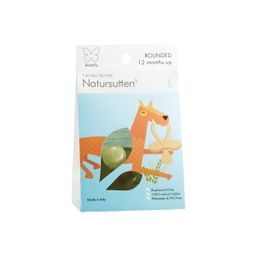 Natursutten Butterfly Rounded Pacifier - 2 pack (Age / Stage: 12+ M)   The Tot