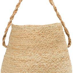 Creative Co-op Hand-Woven Jute Handle Baskets, Natural | Amazon (US)