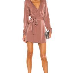 NBD Janet Mini Dress in Mauve from Revolve.com   Revolve Clothing (Global)