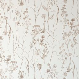 Hand Painted Watercolor Wallpaper. Removable and Self Adhesive. Peel and Stick Wallpaper.   Etsy (US)