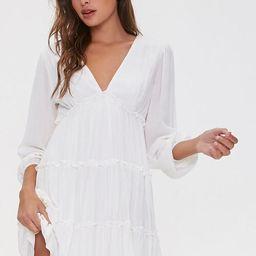 Ruffle-Trim Mini Dress | Forever 21 (US)