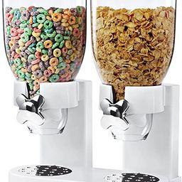 Zevro /GAT201C Indispensable Dry Food Dispenser, Dual Control, White/Chrome | Amazon (US)