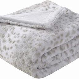 Sedona House Gifts for Women Animal Print Cheetah Fuzzy Faux Fur Throw Blanket - Super Soft Fuzzy... | Amazon (US)