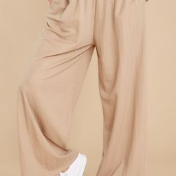 On The List Beige Pants | Red Dress