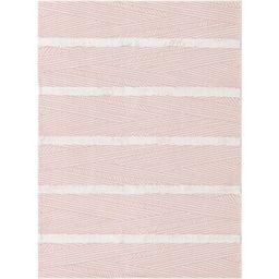 Casa Striped Cotton Pink Area Rug Sabrina Soto™ Collection Rug Size: Rectangle 4'5 x 6' | Wayfair North America