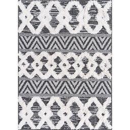 Casa Southwestern Cotton Black Area Rug Sabrina Soto™ Collection Rug Size: Rectangle 2'3 x 3' | Wayfair North America