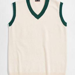 SHEIN Men Rib-knit Sweater Vest | SHEIN
