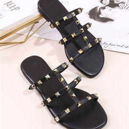 NEWStudded Decor Slide Sandals | SHEIN