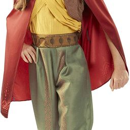 Disney Raya and The Last Dragon Warrior Outfit Costume with Cape for Girls Size 4-6X [Amazon Excl...   Amazon (US)