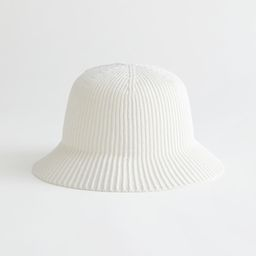 Ribbed Knit Beanie Hat   & Other Stories