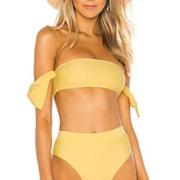 Tularosa Felicity Top in Yellow from Revolve.com | Revolve Clothing (Global)