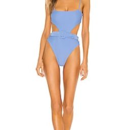 Camila Coelho Paulista One Piece in Sea Breeze from Revolve.com   Revolve Clothing (Global)
