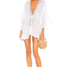 Charo Ruiz Ibiza Luchi Kaftan in White from Revolve.com | Revolve Clothing (Global)