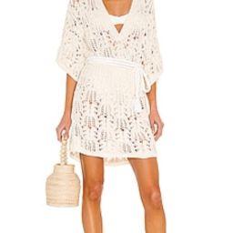 IRO Arwene Dress in Ecru from Revolve.com | Revolve Clothing (Global)