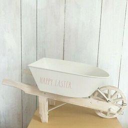NWT Rae Dunn Happy Easter Wheelbarrow   eBay US