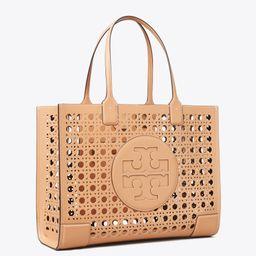 Ella Basket-Weave Tote Bag   Tory Burch (US)
